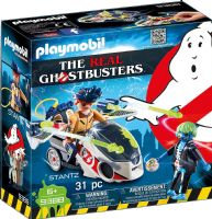 Playmobil 9388 The Real Ghostbusters: Stantz with Skybike